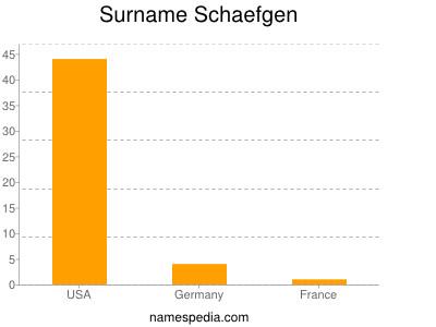 Surname Schaefgen