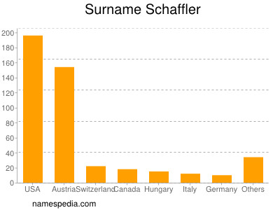 Surname Schaffler