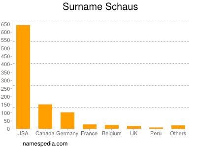 Surname Schaus