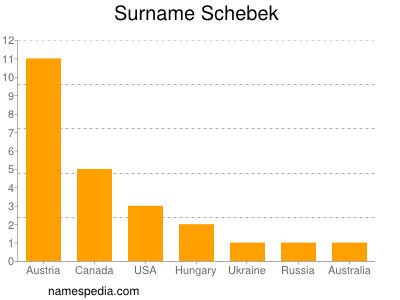 Surname Schebek