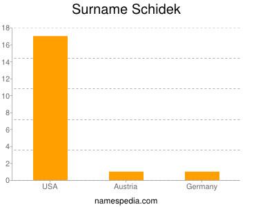 Surname Schidek