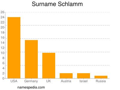 Surname Schlamm