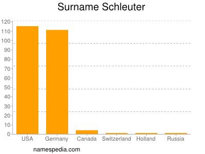 Surname Schleuter