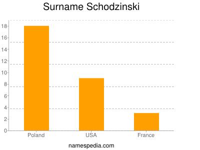 Surname Schodzinski