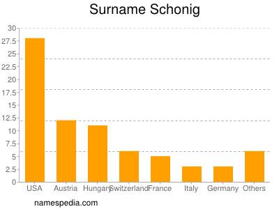 Surname Schonig