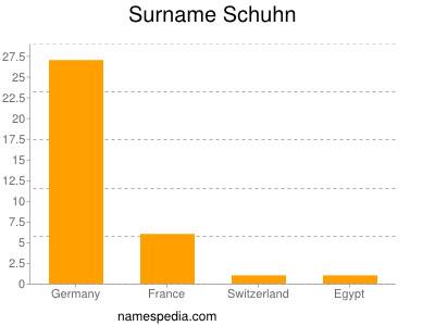 Surname Schuhn