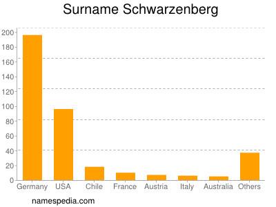 Surname Schwarzenberg