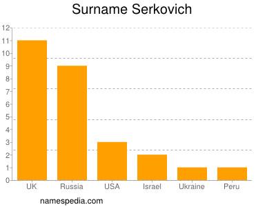 Surname Serkovich