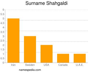 Surname Shahgaldi