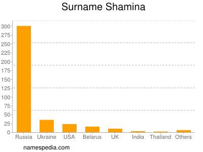 Surname Shamina