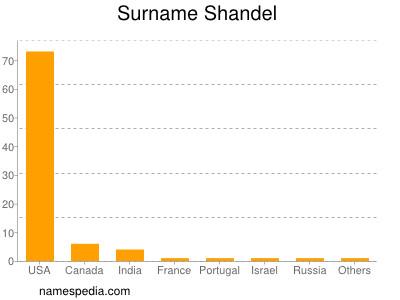 Surname Shandel