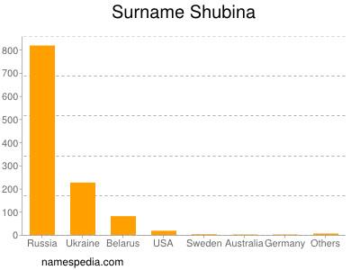 Surname Shubina