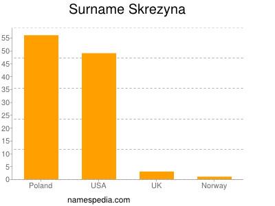 Surname Skrezyna