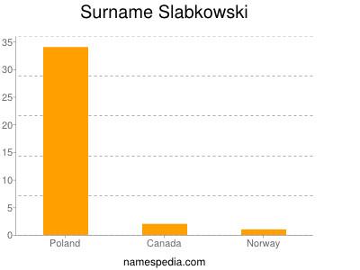 Surname Slabkowski