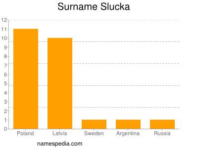 Surname Slucka