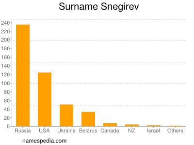 Surname Snegirev