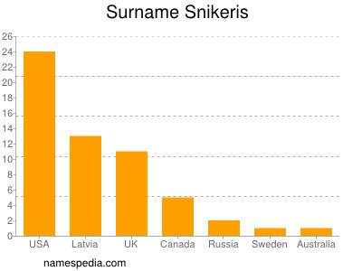 Surname Snikeris