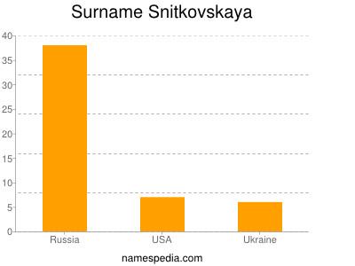 Surname Snitkovskaya