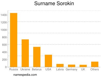 Surname Sorokin