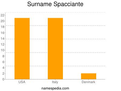 Surname Spacciante
