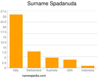 Surname Spadanuda