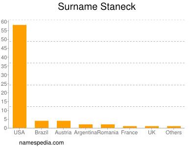 Surname Staneck