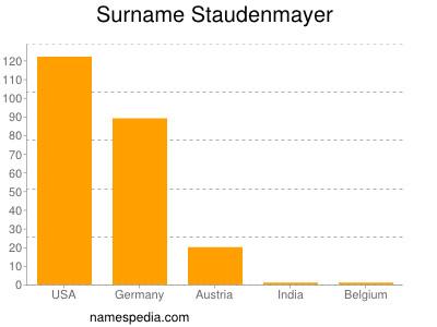Surname Staudenmayer