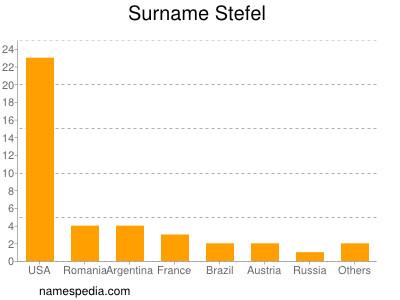 Surname Stefel