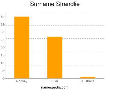 Surname Strandlie