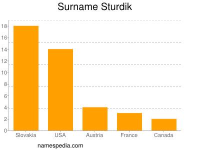 Surname Sturdik
