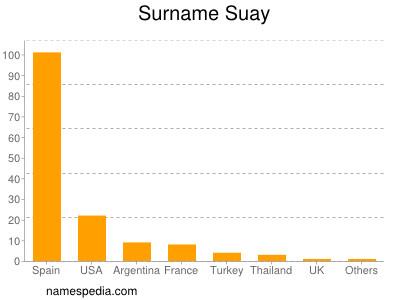 Surname Suay