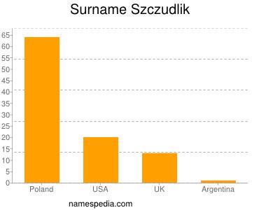 Surname Szczudlik