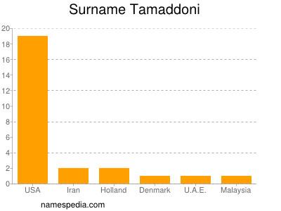 Surname Tamaddoni