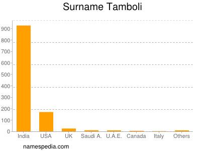 Surname Tamboli
