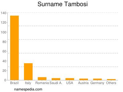 Surname Tambosi