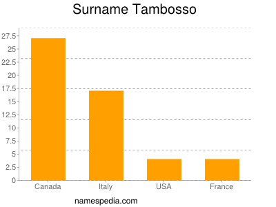 Surname Tambosso
