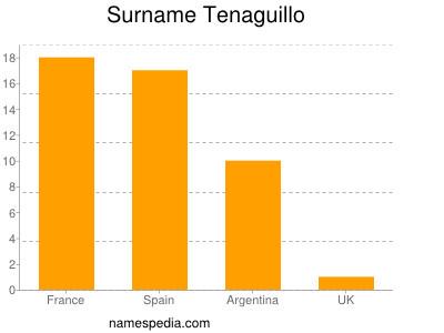 Surname Tenaguillo