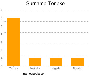 Surname Teneke