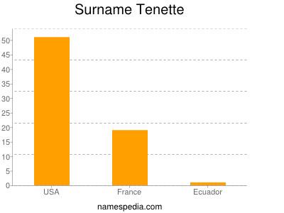 Surname Tenette