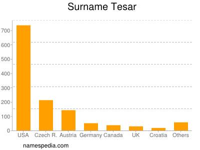 Surname Tesar