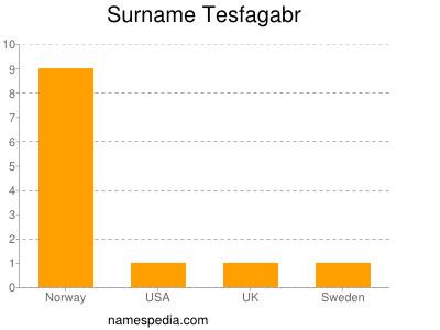 Surname Tesfagabr