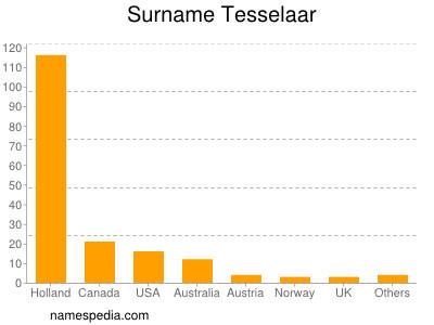 Surname Tesselaar