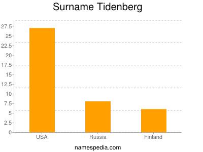 Surname Tidenberg