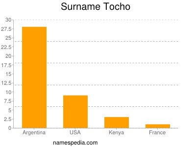 Surname Tocho