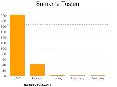 Surname Tosten