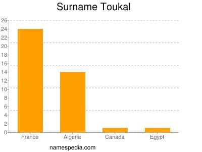 Surname Toukal
