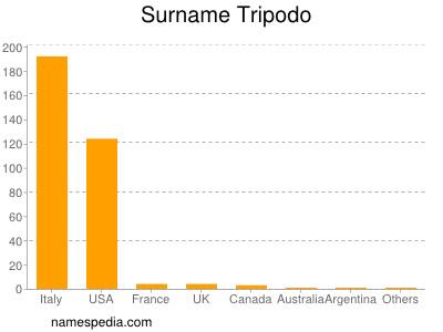 Surname Tripodo