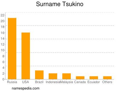 Surname Tsukino