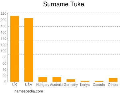 Surname Tuke