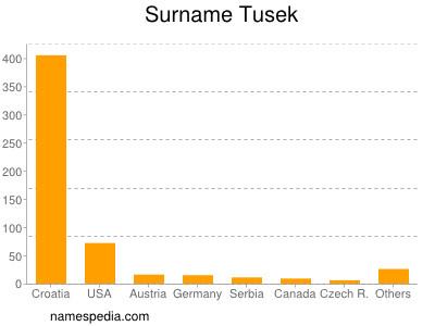 Surname Tusek